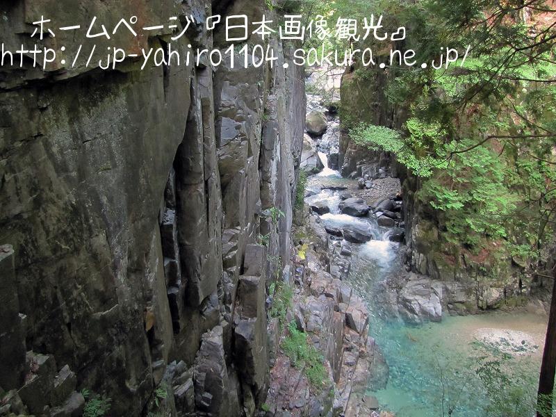 岐阜・付知峡の清流