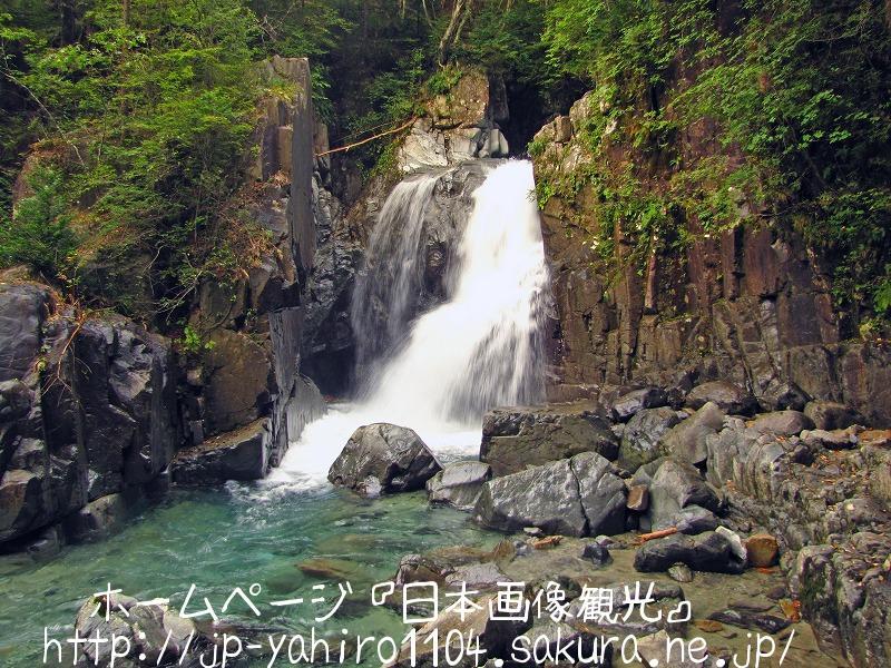 岐阜・付知峡、仙樽の滝