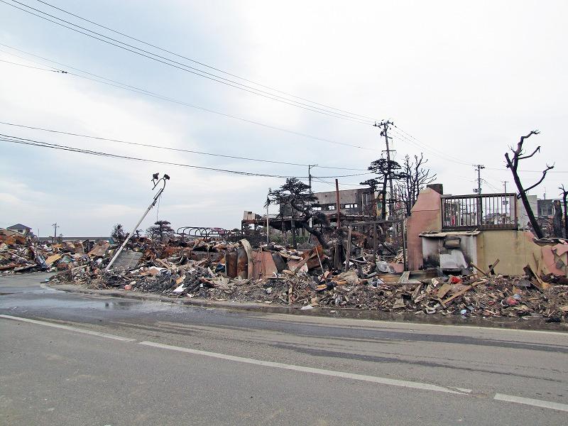 福島・壊滅的な被害を受けた久ノ浜集落2