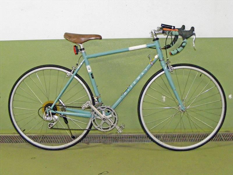 改装後の新型通勤自転車1