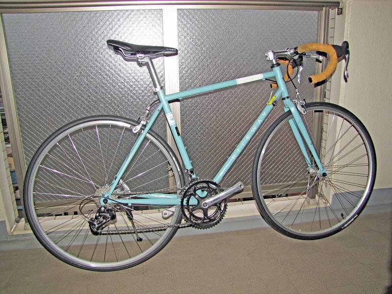 改装前の新型通勤自転車