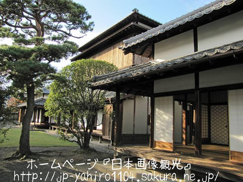 長野・松代藩主、真田家の邸宅2