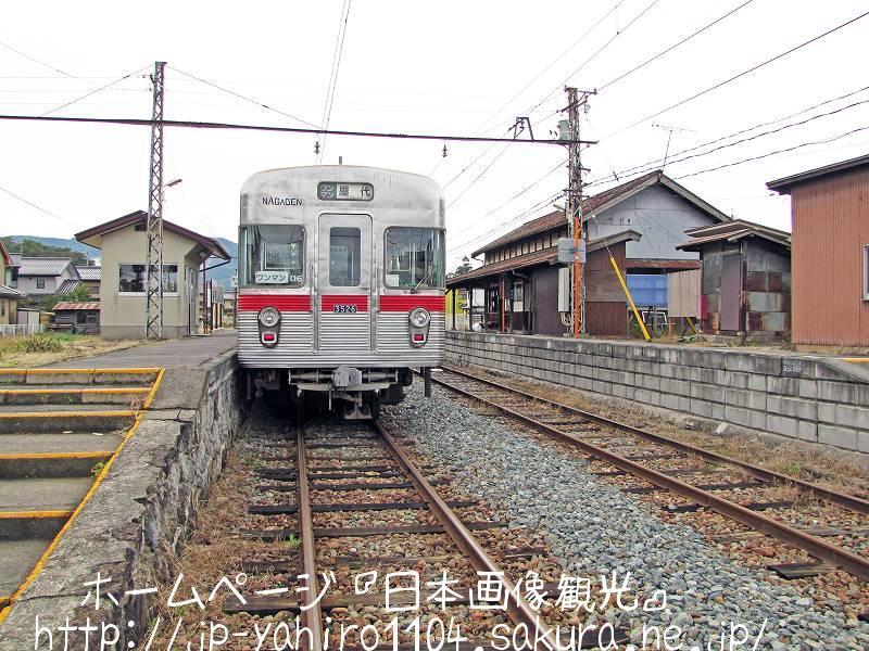 長野・廃線間近かの長野電鉄屋代線、綿内駅2