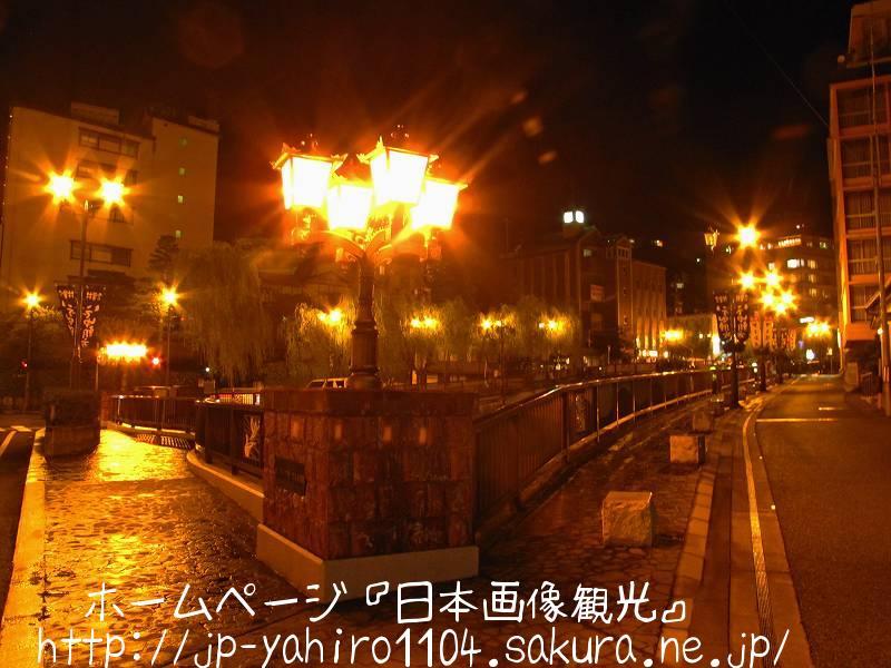 岐阜・夜の下呂温泉街2