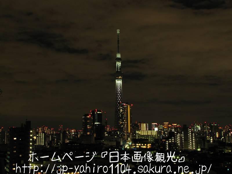 東京・2011スカイツリークリスマスライトアップ