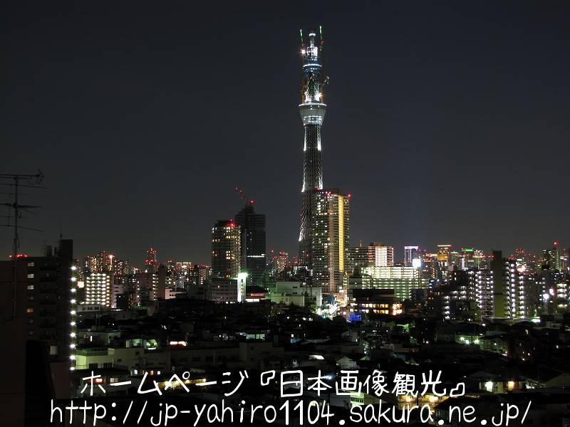 東京・2010スカイツリークリスマスライトアップ