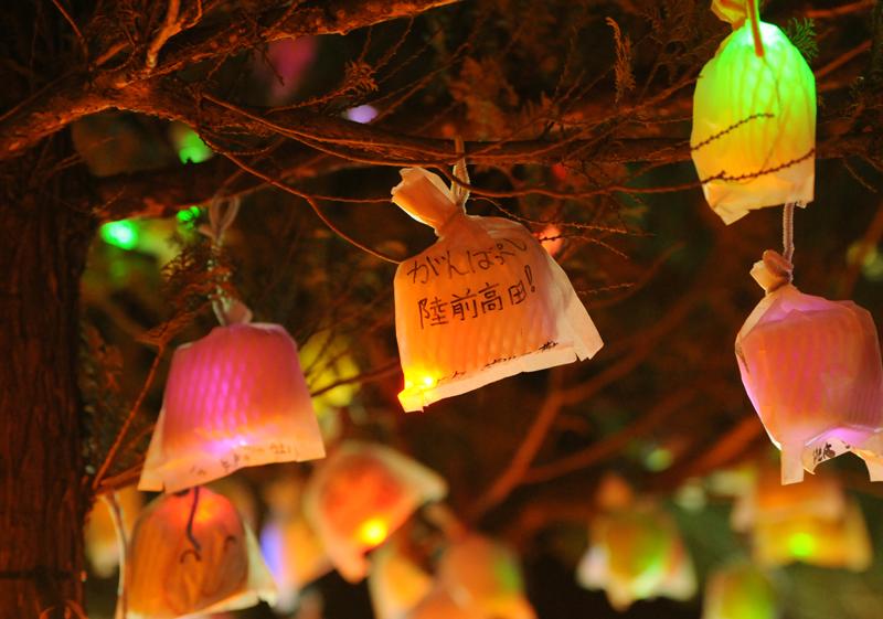 陸前高田仮設クリスマスイルミネーション_6