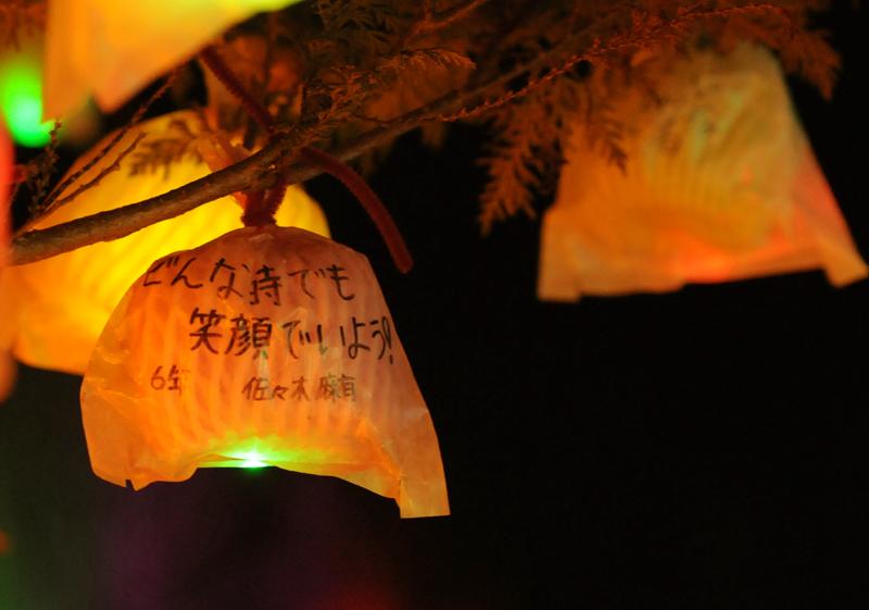 陸前高田仮設クリスマスイルミネーション_5