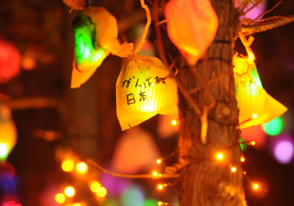 陸前高田仮設クリスマスイルミネーション_1