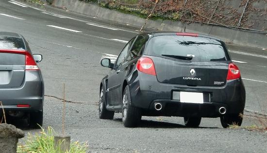 Renault ルーテシアRS & Honda インサイト