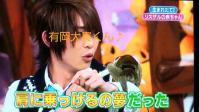 志村動物園 大ちゃんがサルを肩に乗せる