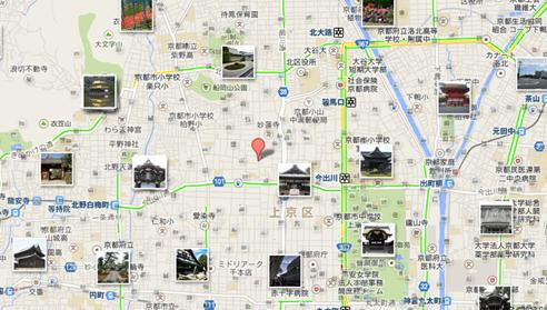京料理 萬重 地図003