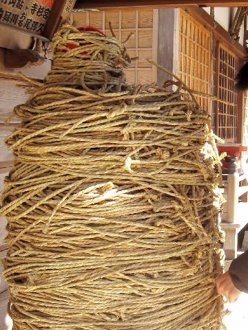 東京 葛飾 水元 南蔵院 しばられ地蔵 1月中旬の様子