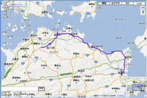 ログ106.8km