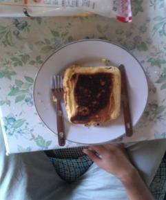 ホットケーキ完成