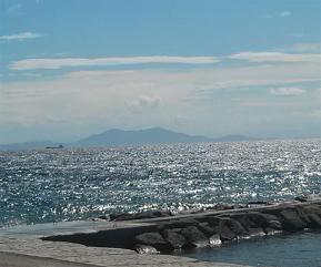 絵のような海