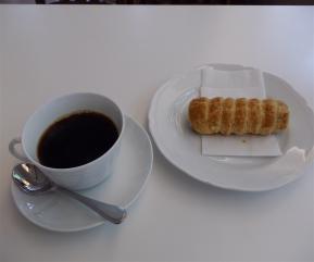 コーヒーとサクサクパイ