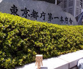 都庁とダンボー