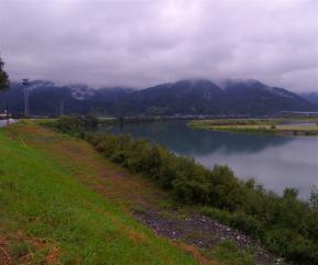 球磨川景色
