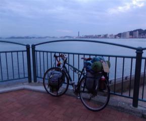 下関と自転車
