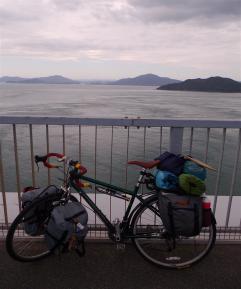 最後の橋と自転車