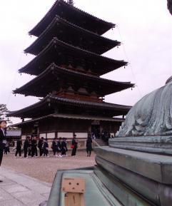 法隆寺とダンボー