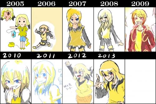 9年進化録