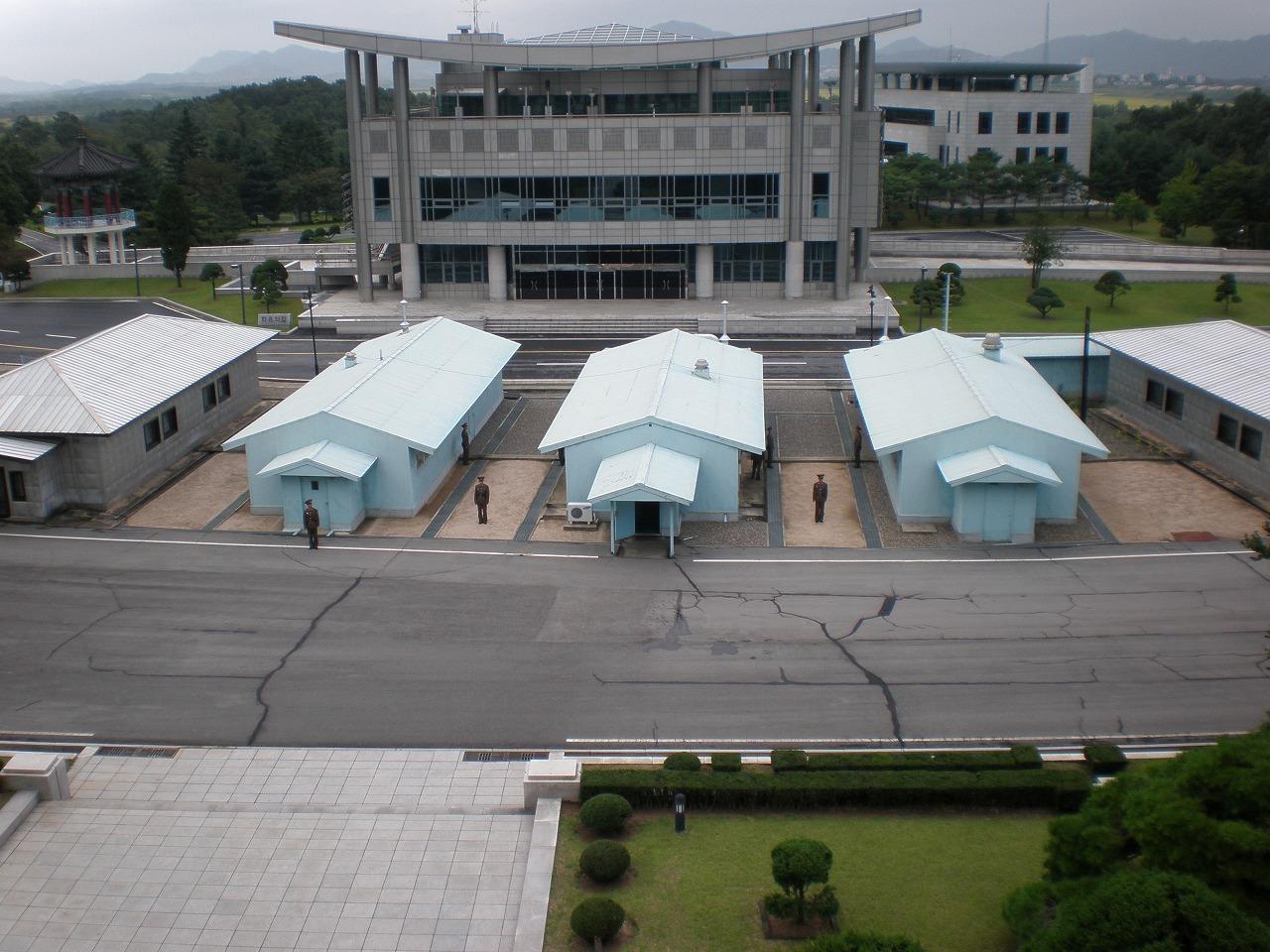 韓国との軍事境界線(北緯38度線)