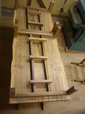 テーブル脚木取り2