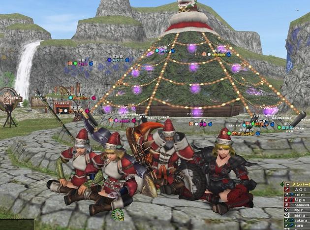 クリスマス防具