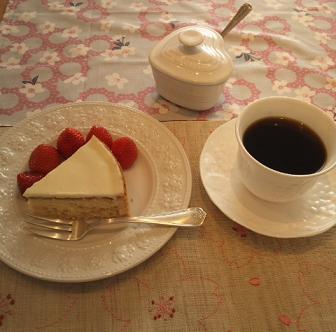さくら・りんごケーキ