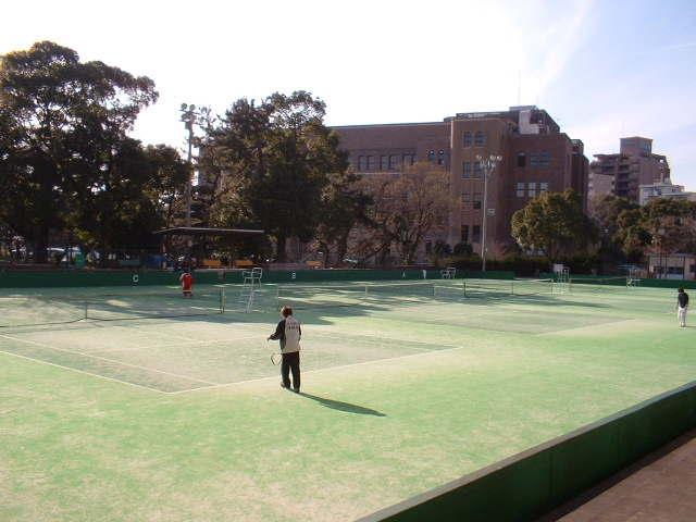 鶴舞公園テニスコート-01