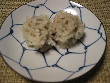 肉団子のもち米蒸しIMG_2251