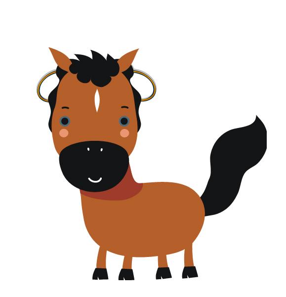 馬の耳に、イヤリングj