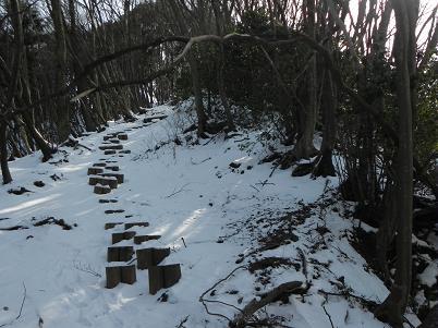 伊豆が岳階段