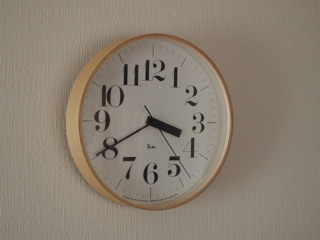 リキの掛け時計。