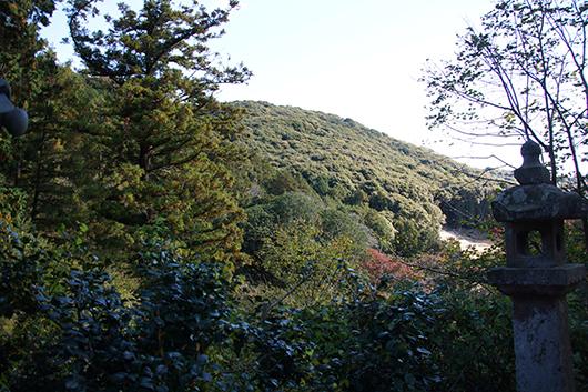 普門寺 周辺の山々