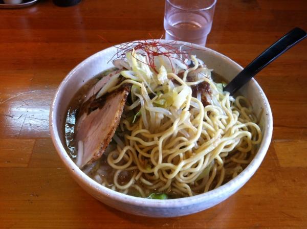 らーめん丈屋 協和店 丈二郎(醤油) 麺