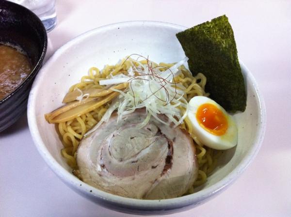 らーめん丈屋 美郷店 味噌つけ麺 麺1