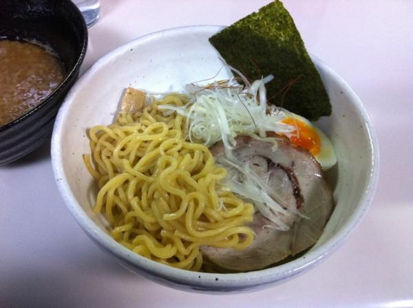 らーめん丈屋 美郷店 味噌つけ麺 麺2