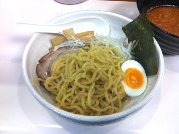 らーめん丈屋 美郷店 辛味噌つけ麺(熱盛) 麺