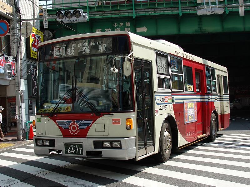 青梅街道営業所の3扉車 - Chuo ...