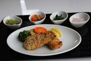 フライ鮭のハーブ