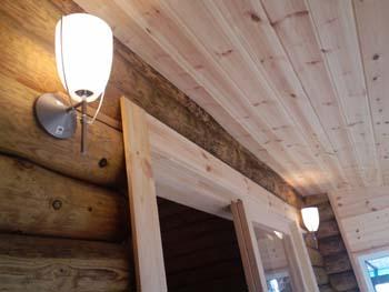 O邸サンルーム完成室内照明