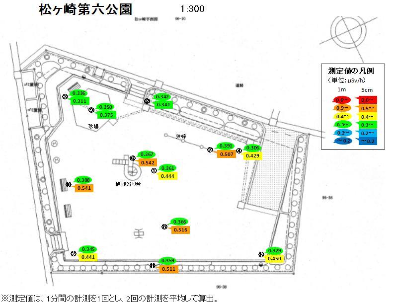 放射線量マップ