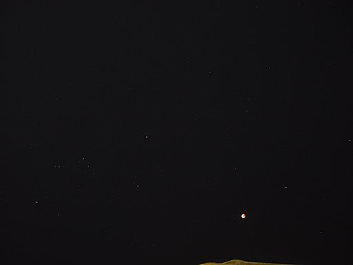 ここまで星が綺麗に見えたのがすごかったです!!