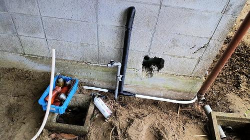 ガス設備工事1