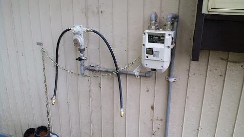 ガス設備工事3
