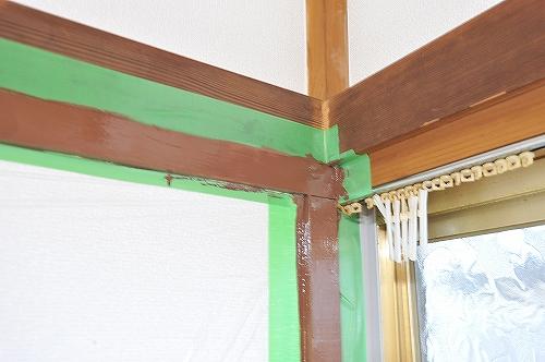 幅木塗装9