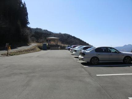 駐車場の様子